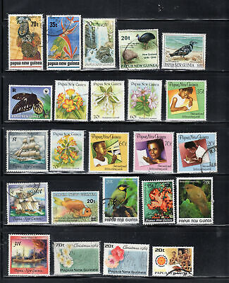 Png Papua New Guinea  Stamps Used     Lot 7316