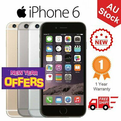 Apple iPhone 6 16GB 32GB 64GB 128GB Factory Unlocked Smartphone Plus Gift NEW