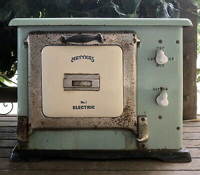 """Old """"metters"""" no 1 electric oven"""