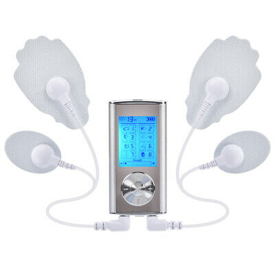 TENS EMS Unit Dual Channel Muscle Stimulator Machine for Pain Relief Therapy