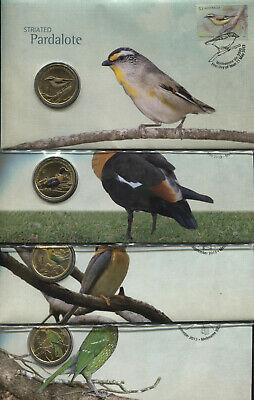 "2013 $1 /"" SHELDUCK /"" COLORED Coin /& Stamp PNC//FDC Unc in Dust Cover"