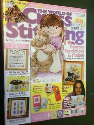 The World of Cross Stitching Magazine Issue 110 May 2006