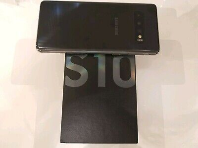Nearly new Samsung Galaxy S10 SM-G973F - 128GB - Prism Black (Dual SIM)