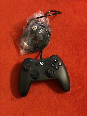 Xbox One Wired Controller Black amazon basics 1500527-01 GREAT QUALITY CONTROL