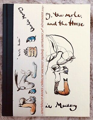 The Boy The Mole The Fox and The Horse Charlie Mackesy SIGNED 1st edition