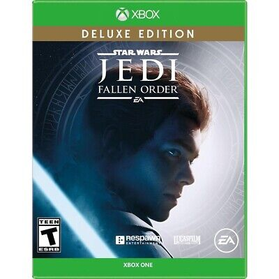 Star Wars Jedi Fallen Order Deluxe Edition (Xbox One) New & Sealed