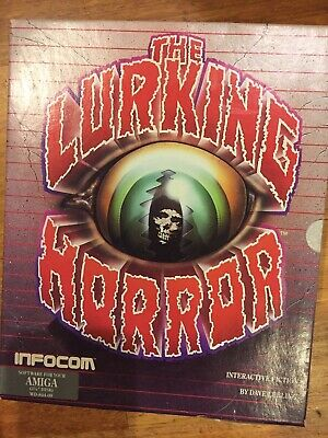 The Lurking Horror Software For Your Amiga 3.5 Inch Disc Interactive Fiction