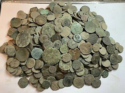Premium Uncleaned Ancient Roman Coins 20 Coins Per Buy