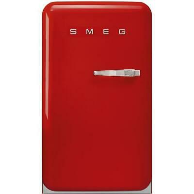 Smeg FAB10HLR Refrigerator Single Door Left Years 50 Class a +130 Liters Red