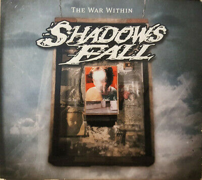 Shadows Fall – The War Within CD DVD and guitar pick heavy metal hardcore