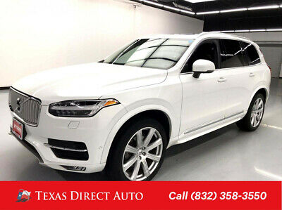 2017 Volvo XC90 Inscription Texas Direct Auto 2017 Inscription Used 2L I4 16V Automatic AWD SUV Premium