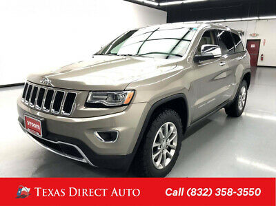 2016 Jeep Grand Cherokee Limited Texas Direct Auto 2016 Limited Used Turbo 3L V6 24V Automatic 4WD SUV