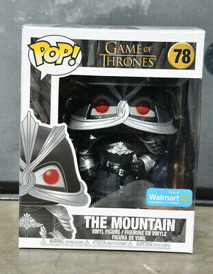 Funko Pop! THE MOUNTAIN 78 WALMART Exclusive Game Of Thrones Wal Mart Exclusive
