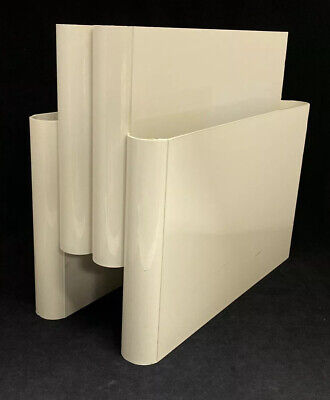 Kartell Mid Century Modern Magazine Rack By Giotto Stoppino Italy
