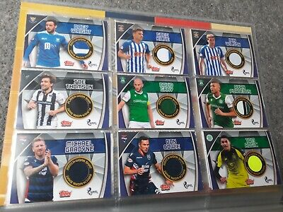 Topps Match Attax SPFL 2019/2020: 14 x Shirt Relic Card Bundle- Rogic, Tait etc.