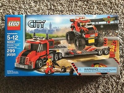 LEGO City Monster Truck Transporter (60027) New in Box