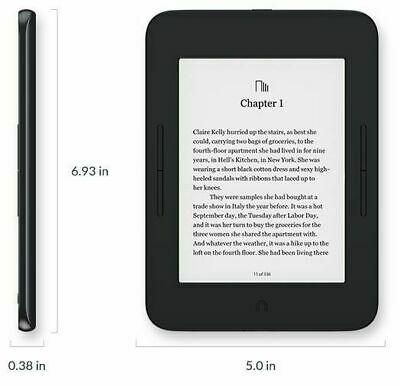 "New Barnes & Noble NOOK GlowLight 3 eReader - 6inchs"" model 8GB BNRV520"