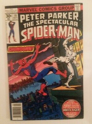 Marvel Peter Parker The Spectacular Spider-Man Vol 1 #10 1976 Series.  Very Good