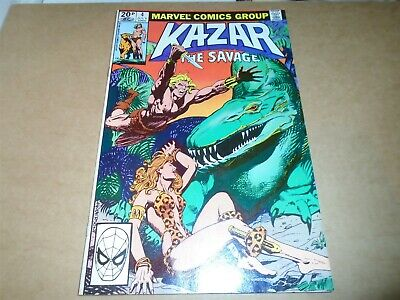 KA-ZAR THE SAVAGE #4 Marvel Comics 1981 NM