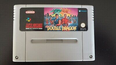 Super Double Dragon Game Card Cartridge For Super Nintendo SNES PAL/EUR English