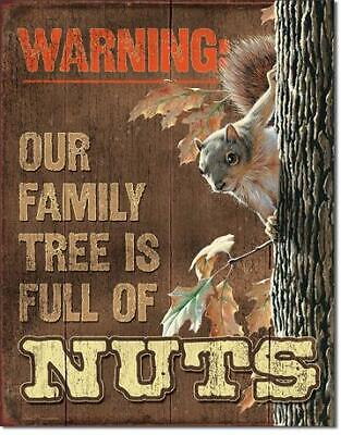 Tool Box Magnet Ad Funny Squirrel Dropped Nuts  Refrigerator
