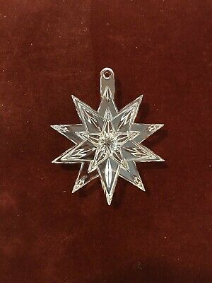 Waterford Crystal Snow Star Ornament
