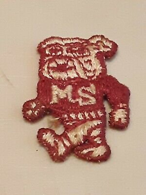 Vintage MISSISSIPPI STATE BULLDOGS PATCH