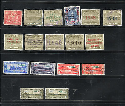Guatemala Stamps Used & Mint Hinged   Lot 7351