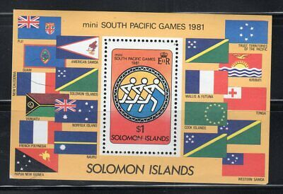British Solomon Islands Stamps  Souvenir Sheet  Mint Never Hinged  Lot 7359