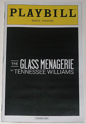 The Glass Menagerie Opening Night Broadway Playbill - Zachary Quinto
