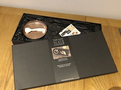The Just Slate Company - Copper and Slate Serving Platter in A Gift Box