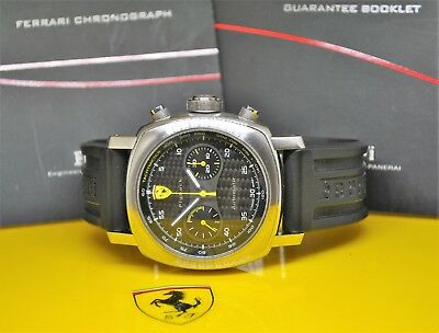 Panerai Ferrari Flyback chronograph gents watch limited to one of 500