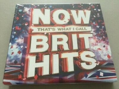 Now Thats What I Call  - Brits Hits  - Ideal Xmas Gift  -  3Cds