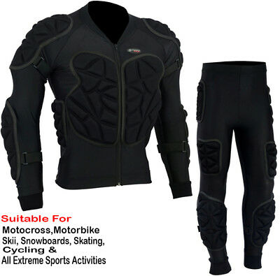 Corps Armure Moto Motocross Ski Dos Protection Protection Suit
