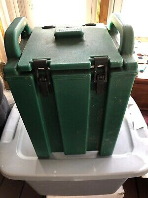 Cambro 250LCD Green 2.5 Gallon Insulated Beverage Dispenser Hot or Cold/ Used