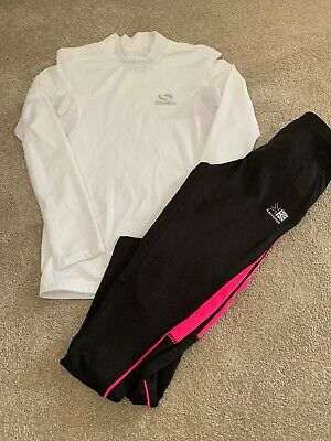 Girls Running Trousers And Top 9-10yrs (134-14cm)