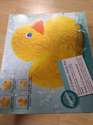 Wilton 3d Rubber Duck Cake Mould