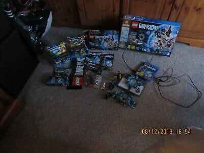 LEGO Dimensions: Starter Pack (PlayStation 4,2015) with extra figures