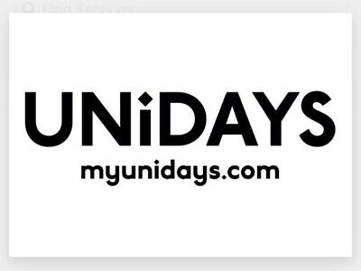 UNIDAYS Any Discount Code. 2 Codes For £0.99 Reduced
