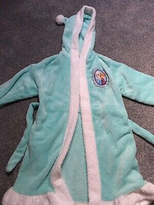 Girls Disney Frozen Dressing Gown 8-9 Years