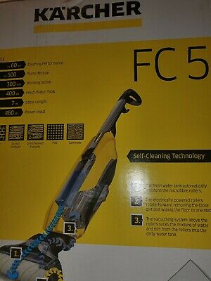 KARCHER FC5 Hard Floor Cleaner – Yellow - BRAND NEW