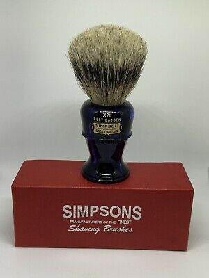 Simpsons Limited Edition Centenary Edition Colonel X2L Badger Shaving Brush