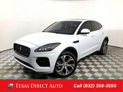 2018 Jaguar E-PACE First Edition Texas Direct Auto 2018 First Edition Used Turbo 2L I4 16V Automatic AWD SUV