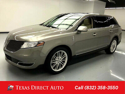 2016 Lincoln MKT EcoBoost Texas Direct Auto 2016 EcoBoost Used Turbo 3.5L V6 24V Automatic AWD SUV Premium