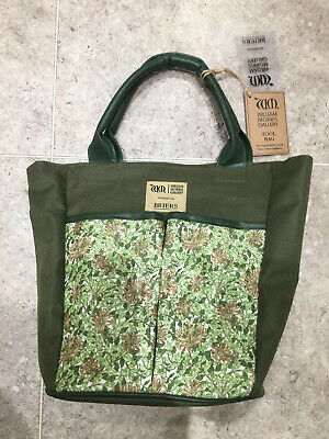 Briers Garden Tool Bag  - William Morris Honeysuckle  - Brand New With Tags