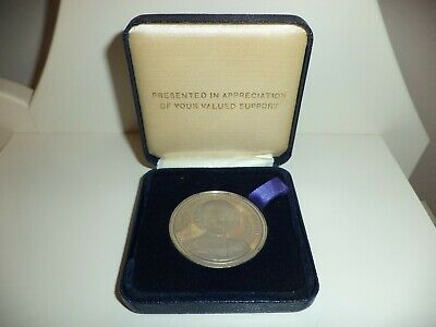 Margaret Thatcher Coin,By The Bulldog Club Boxed
