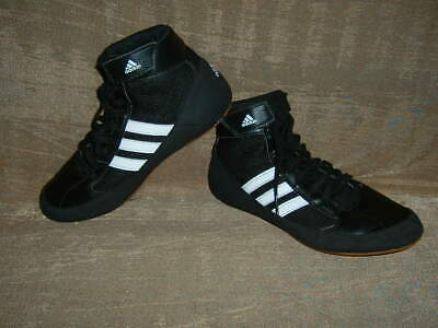 Adidas ladies older girls / boys high top  black trainers shoes size 4.5
