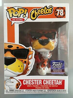 Funko Pop Chester Cheetah Hollywood Store Exclusive Icons Limited Edition Figure