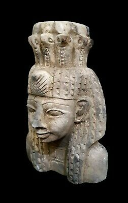 Fabulous Bust A princess of the Family of Akhenaten Amarna Crafts Dynasty XVIII