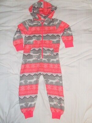 *NEW* Girls Next pink all in one reindeer age 4 years unused condition!